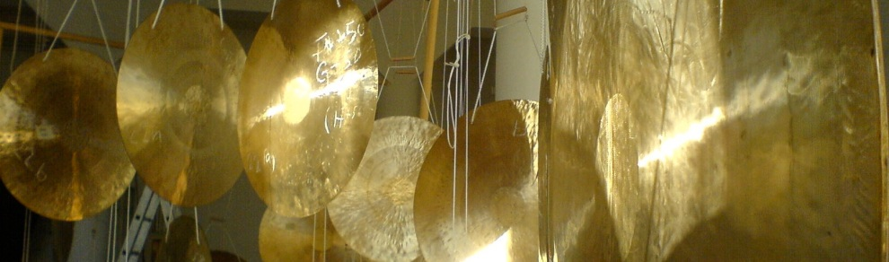 gongs page header